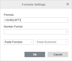 Add formula