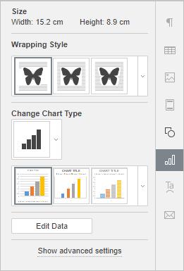 Chart Settings tab