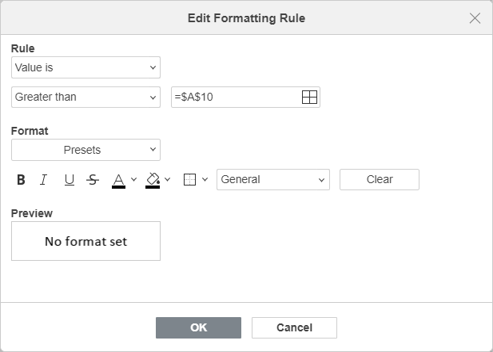 Edit Value is Rule