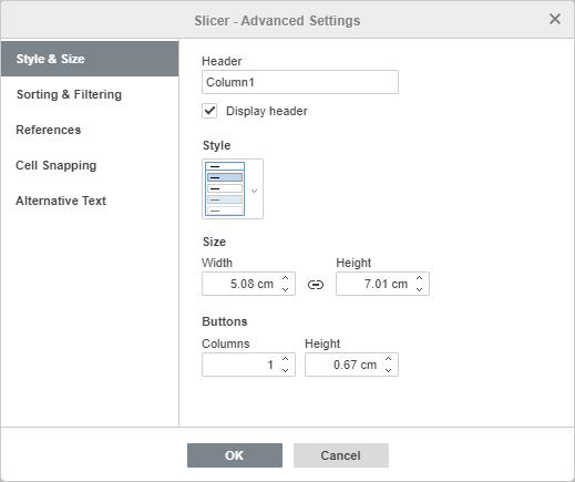 Slicer - Advanced Settings