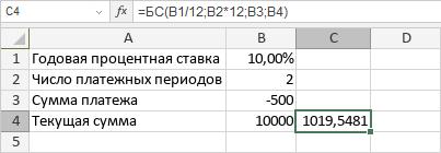 Функция БС
