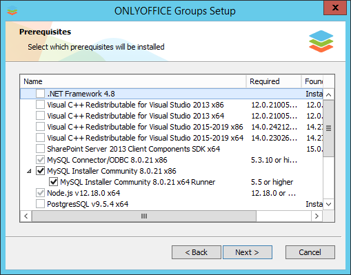 How to deploy online office suite on your server? Step 2