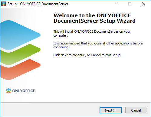 Installing Document Server for Windows on a local server