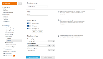 How to call your customers directly from your CRM? Step 3