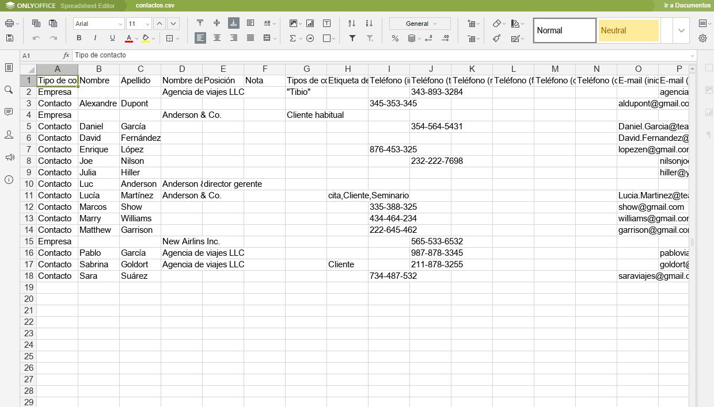 Base de Datos Crm Base de Datos de Clientes