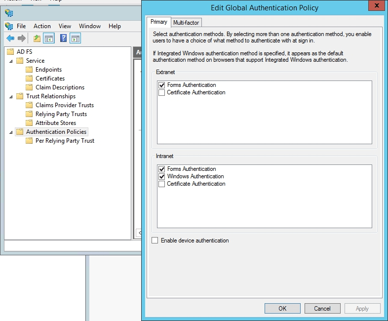How to configure ONLYOFFICE SP and AD FS IdP