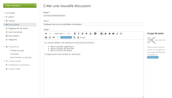 Diriger une discussion