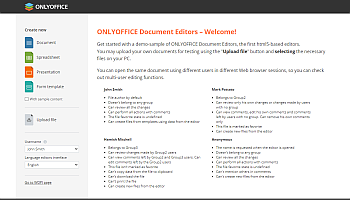 Access Docs Developer Edition via a web browser
