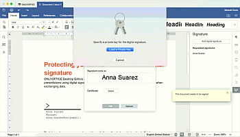 Select a Private Key