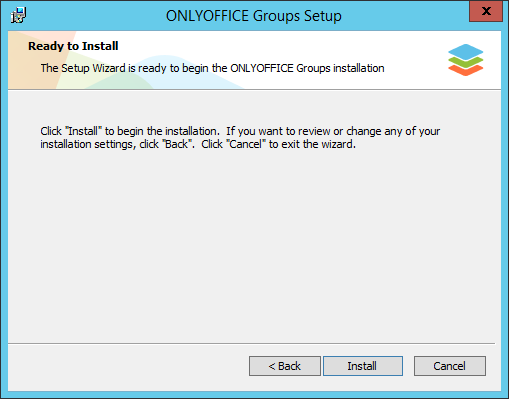 How to deploy online office suite on your server? Step 3