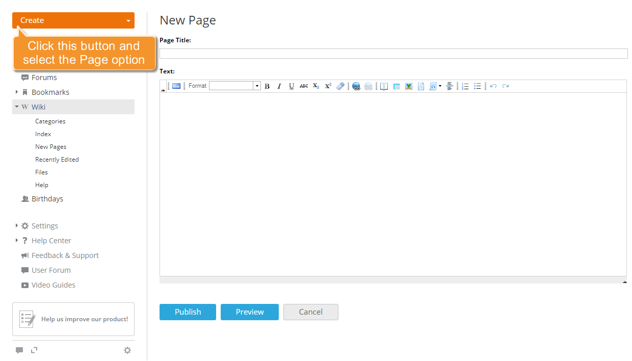 How to create a knowledge base? Step 2