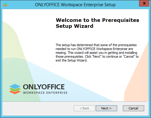 Installing server version for Windows on a local server - ONLYOFFICE