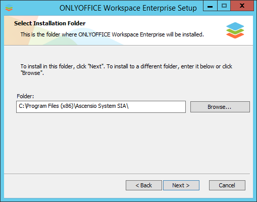 How to deploy Enterprise Edition for Windows on a local server? Step 3