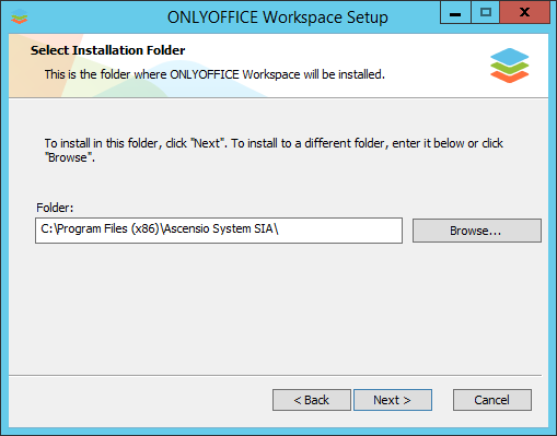 How to deploy Community Edition for Windows on a local server? Step 3