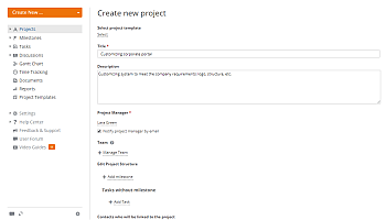 How to link an opportunity with a project? Step 3