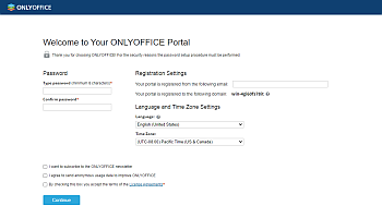 How to deploy online office suite on your server? Step 4