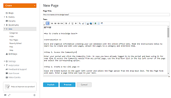 How to create a knowledge base? Step 4