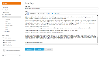 How to create a knowledge base? Step 8