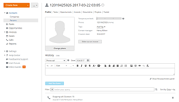 How to call your customers directly from your CRM? Step 7