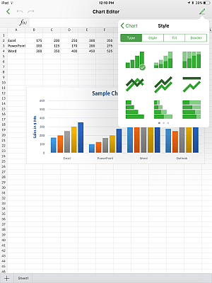 Adjust chart settings - ONLYOFFICE