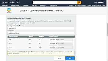 Launch your ONLYOFFICE instance